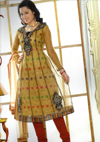 Designer Anarkali - Gudiya - 01