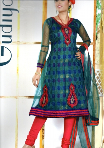 Designer Anarkali - Gudiya - 07