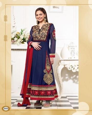 Designer Anarkali - Sathiya - WA0047