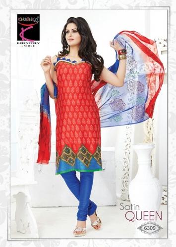 Cotton printed - Satin Queen - 6309
