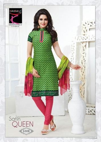 Cotton printed - Satin Queen - 6308