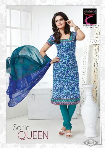 Cotton printed - Satin Queen - 6307