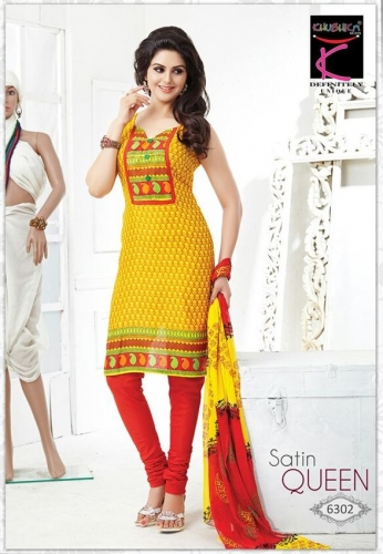 Cotton printed - Satin Queen - 6302